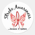 Grunge Tattoo Butterfly 6.1 Stroke Sticker