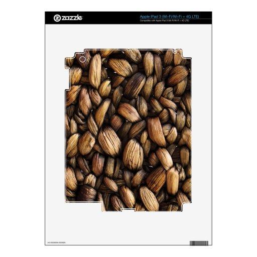 Grunge tejido Texure Pegatinas Skins Para iPad 3