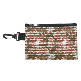 Grunge Textured Abstract Pattern Accessory Bag