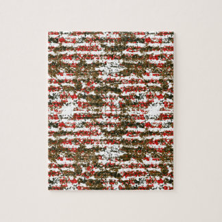 Grunge Textured Abstract Pattern Jigsaw Puzzle