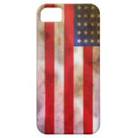 Grunge Textured American Flag iPhone 5 Cover