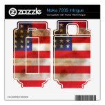 Grunge Textured American Flag Nokia 7205 Intrigue Skins