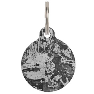 Grunge Themed Pet ID Tag