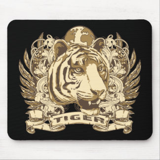 Grunge Tiger Mouse Pad