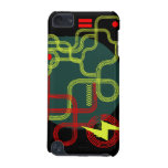 Grunge Tracks iPod Touch case