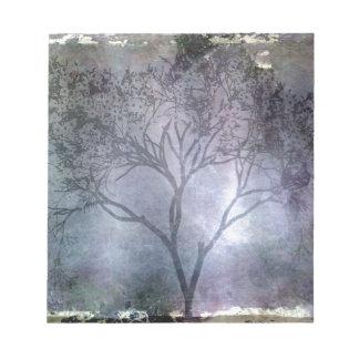 Grunge Tree Notepad