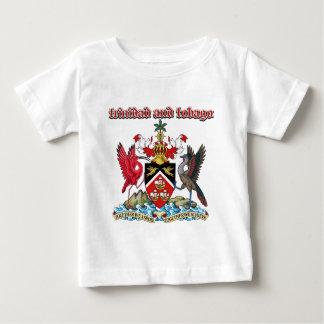 Grunge Trinidad and Tobago coat of arms designs Infant T-shirt