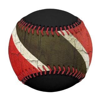 Grunge Trinidad And Tobago Flag Baseball