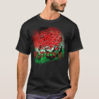 Grunge TShirt With Welsh Dragon And Cymru