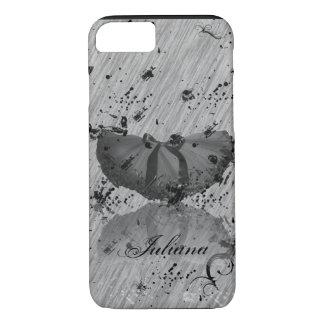 Grunge Tutu on Grey iPhone 7 case
