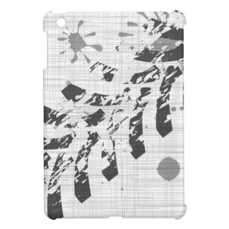 Grunge Tyre Marks iPad Mini Cases