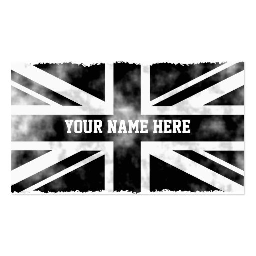 Grunge UK Double-Sided Standard Business Cards (Pack Of 100)
