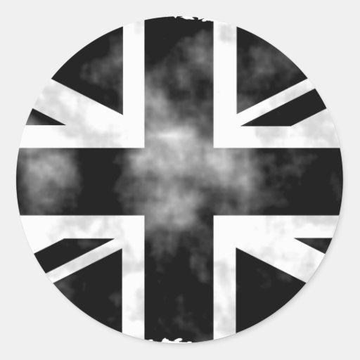 Grunge UK Classic Round Sticker