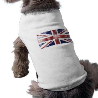 Grunge Uk Pet Tshirt