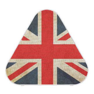 Grunge UK Flag and USA Flag Portable Speaker