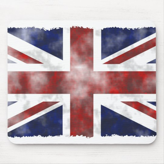 Grunge Uk Mouse Pad