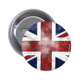 Grunge Uk Pinback Button