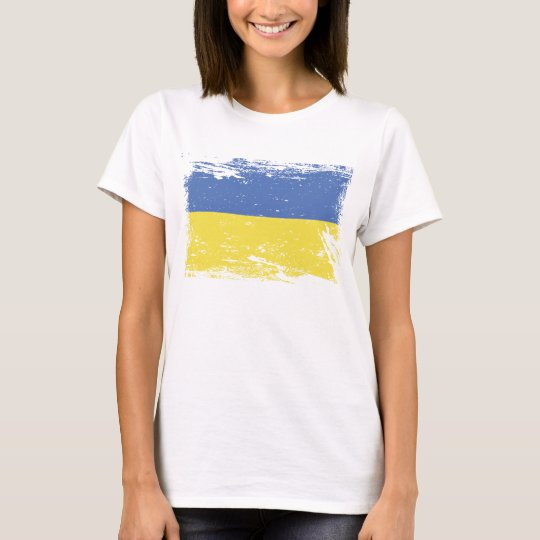 Grunge Ukraine Flag T-Shirt