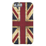 Grunge Union Jack Barely There iPhone 6 Case
