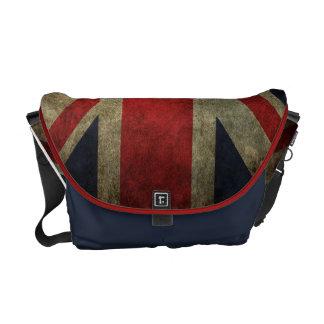 Grunge Union-Jack British Flag Courier Bag