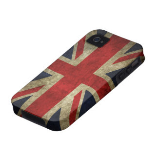 Grunge Union Jack Case-Mate iPhone 4 Covers