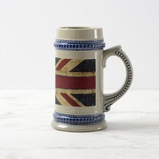 Grunge Union Jack - classic - vintage look Coffee Mugs