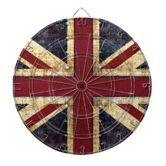 Grunge Union Jack Dartboards