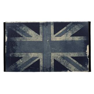 Grunge Union Jack Flag iPad Folio Cover