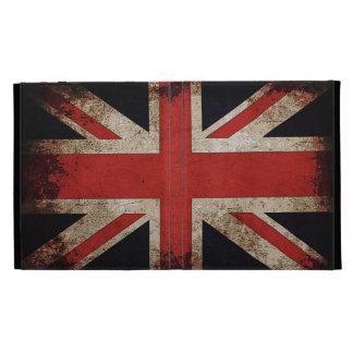 Grunge Union Jack Flag iPad Folio Covers