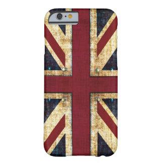 Grunge Union Jack Funda Barely There iPhone 6