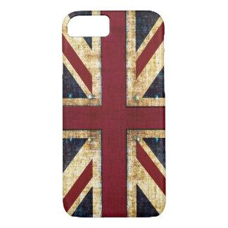 Grunge Union Jack Funda iPhone 7