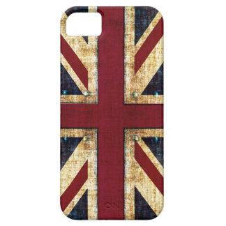 Grunge Union Jack iPhone 5 Carcasa