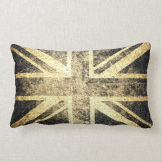 Grunge United Kingdom Flag 4 Pillows