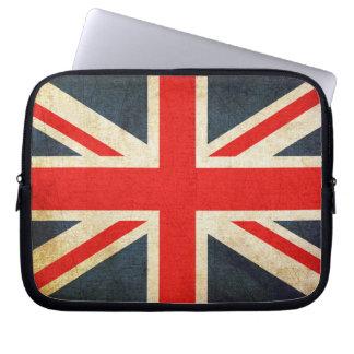 Grunge United Kingdom Flag Computer Sleeve