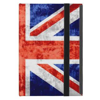 Grunge United Kingdom Flag Cover For iPad Mini
