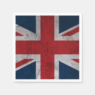 Grunge United Kingdom Flag Napkin