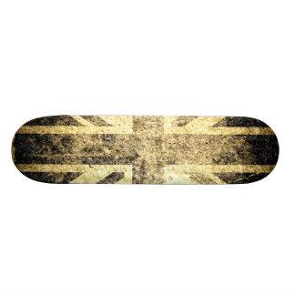 Grunge United Kingdom Flag Skateboard Deck