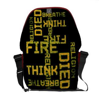 Grunge Urban messenger  Rickshaw Bag Messenger Bags