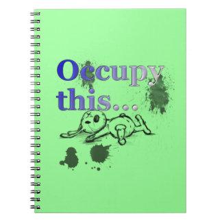 Grunge Urban Occupy This Notebook