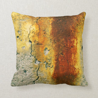 Grunge urbano concreto oxidado cojin