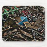 Grunge urbano de la montaña de metales pesados tapetes de ratones