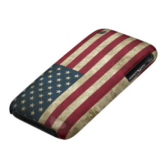 Grunge US Flag iPhone 3 Cases