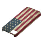 Grunge US Flag iPhone 5 Case