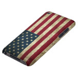Grunge US Flag iPod Case-Mate Cases
