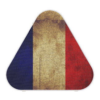 Grunge USA Flag and France Flag Portable Speaker