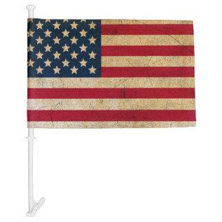 Grunge USA Flag Decorative Car Flag