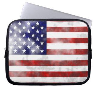 Grunge USA Laptop Computer Sleeve