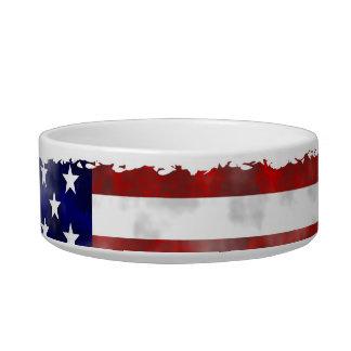 Grunge USA Cat Water Bowl