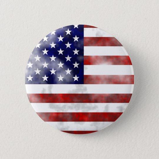 Grunge Usa Pinback Button