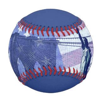 Grunge USA stars Libery Statue Baseball